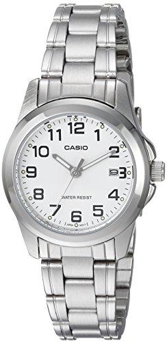 bd286132953f CASIO 19119 LTP-1215A-7B2D - Reloj Señora cuarzo brazalete metálico dial  blanco