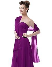 EnjoyBridal® Gasa robó la bufanda chales para boda vestido de fiesta vestido de cóctel vestido de novia
