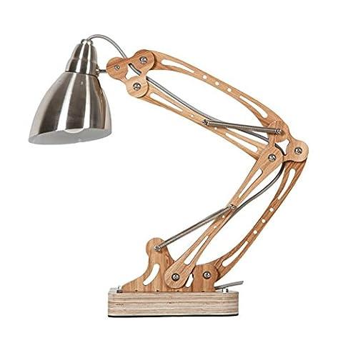 rocker arm Desk Lamp Flexible Long Swing Arm Led Desk Lamp 6W Eye-Care Led Table Lamp Multi-Joint Led Reading Light ,