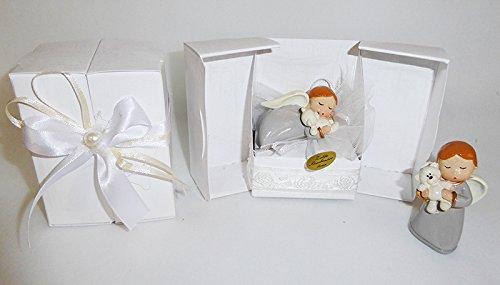 Bomboniera scatola con angelo in resina (zelda1999)
