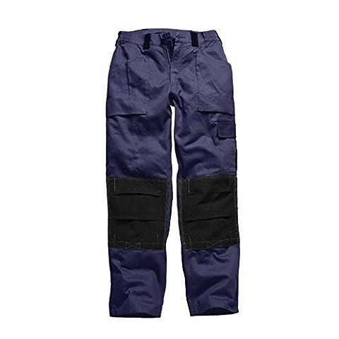 Dickies Mens GDT210 Workwear Trousers Navy Black WD4975N