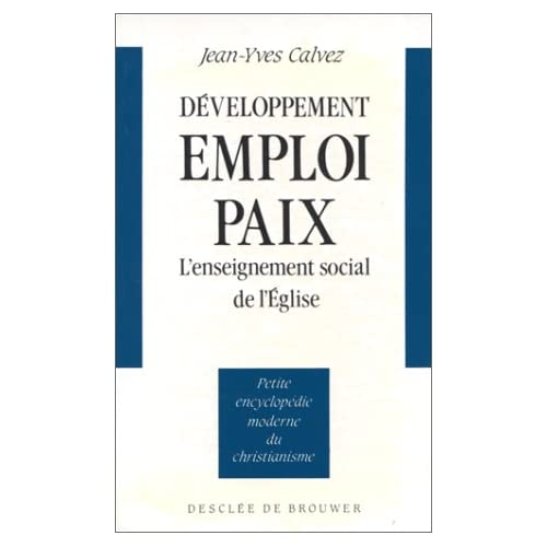 Développement, emploi, paix