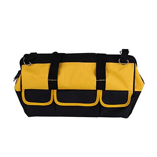 GYFHMY Tragbare Werkzeugtasche Hardware Kit Wiederverwendbare verschleißfeste Kratzfeste Oxford Tuch Verdickung Gartenarbeit Hand Tote Lagerung und Home Organizer