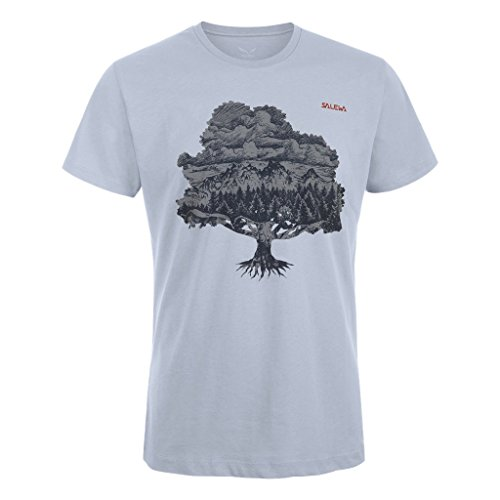 Salewa Magic Wood Co M S/S Tee Maglietta Grigio (0740)