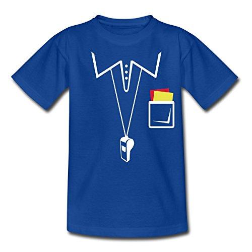 Schiedsrichter Teenager T-Shirt von Spreadshirt®, 134/146 (9-11 Jahre), (Mädchen Kostüme Schiedsrichter)