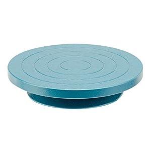 Glorex 2 2620 30 - Töpfer- und Tischränderscheibe, Durchmesser ca. 22 cm