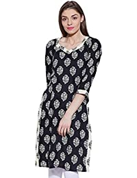 2623eaef642 Women Cotton Indian Kurti Tunic Top Long Ethnic Blouse Kurta Gift for Her  Red and Black