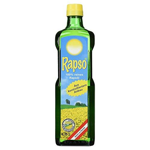 Rapso 100% reines Rapsöl 750 ml, 1er Pack (1 x 750 ml)