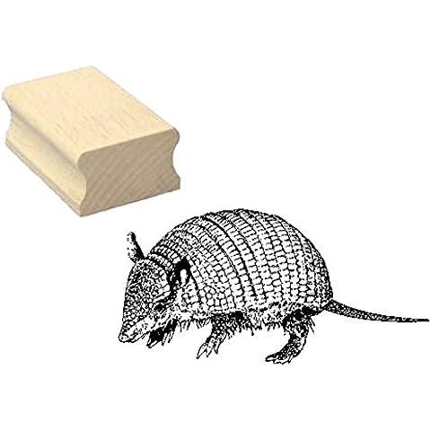 Timbro timbro in legno, motivo: « cintura animale » Scrapbooking–Embossing fai da te Zoo animale Park
