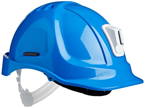 Scott Safety HC600/B/04 Mining Helmet Unvented with Terry SB, Blue