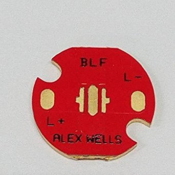 Bazaar BLF cuivre 16mm mcpcb xpl xpe xpg circuit chemin thermique direct carte