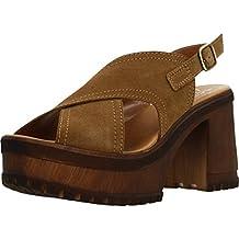 Color Hangar Sandalias y Chanclas marrón Marca Mujer Chanclas Y Sandalias para Modelo nOxpwInq