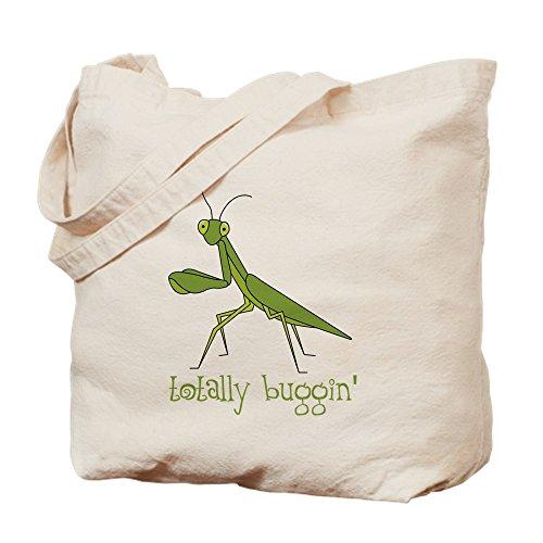CafePress-Total Buggin-Leinwand Natur Tasche, Reinigungstuch Einkaufstasche S khaki -