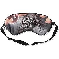 Sleep Eye Mask Tree Abstract Moon Lightweight Soft Blindfold Adjustable Head Strap Eyeshade Travel Eyepatch preisvergleich bei billige-tabletten.eu