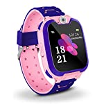 Bhdlovely Kids SmartWatch Phone Digital Camera Watch with Games, Music Player, Alarm Clock,Recorder, and 1.44 inch Touch...