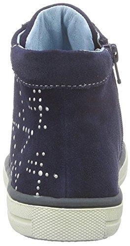 Lurchi Shelly Mädchen Hohe Sneakers Blau (navy 42)