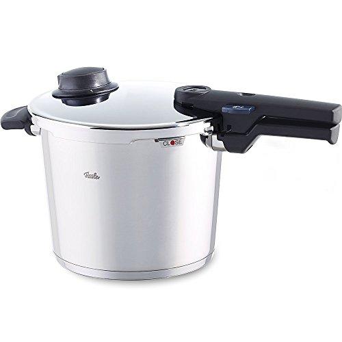 Fissler Vitavit Comfort Olla a presión, 22 cm, Para todo tipo de cocinas, 6 litros, Acero Inoxidable...