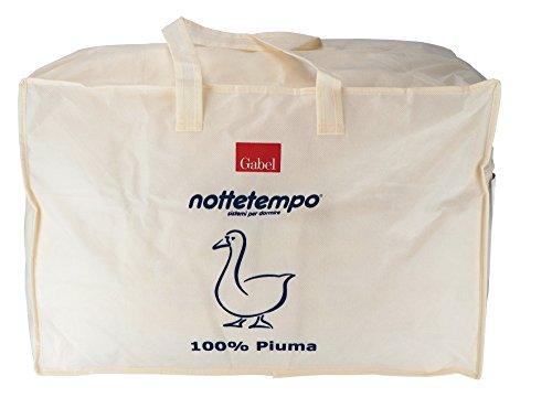 Gabel Nottetempo Piumino, 100% Cotone, Piuma d'Oca,...