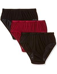 Rupa Softline Women's Plain/Solid Panty (Pack of 3)
