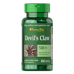 Griffe de diable 510 mg 100 capsules