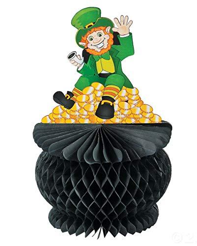 Horror-Shop St. Patricks Day Waben-Aufsteller als Klassische Deko für Irland Mottopartys