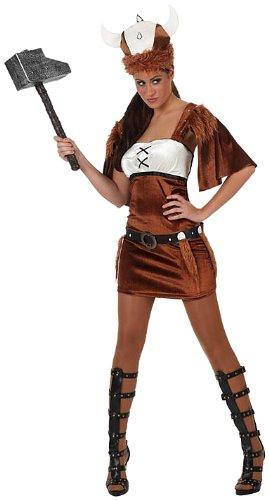 Imagen de atosa  disfraz de vikinga para mujer, talla 38  40 8422259101345