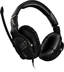 Roccat INT-ROC-14-622 KHAN Pro Competitive High Resolution Gaming Headset - Black