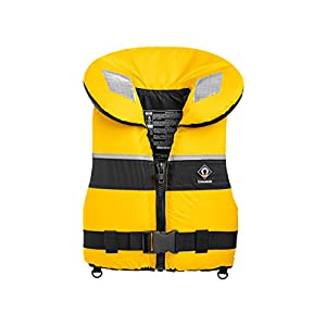 418WSbHUnhL. SS300  - Crewsaver Boating and Sailing - Kids Youth Junior Spiral 100N Life Jacket Coat In Yellow Navy Child & Baby - Unisex