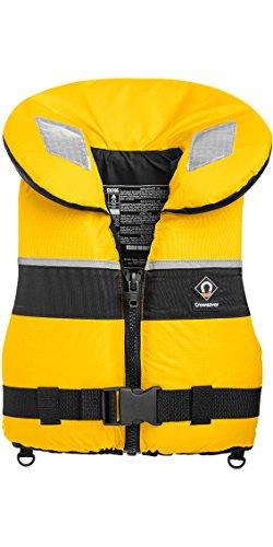 Crewsaver Junior Spiral 100n Life Jacket in Yellow/Navy 2820 Large Child & Junior Size-- - Large Child