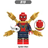 Leoie Building Blocks Building Blocks For Kids Figure Set Toys Figure Dolls Toy Bricks Outrider Spider Man Black Widow Building Blocks Figure Set Toys XH819