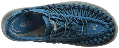 Keen Uneek, Scarpe da Escursionismo Uomo Ink Blue/Neutral Gray