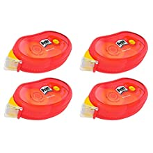 Pritt ZCGNB4X Compact Non-Permanent Adhesive Tape Length 10 m Width 8.4 mm Set of 4 Adhesive Rollers 9H