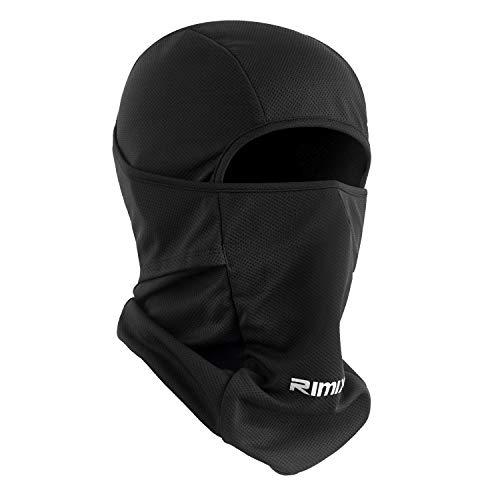 Botack Balaclava Sturmhaube UV-Schutz Maske Winddicht Atmungsaktiv Vollmaske Einstellbar Radfahren Wandern Maske für Herren Damen