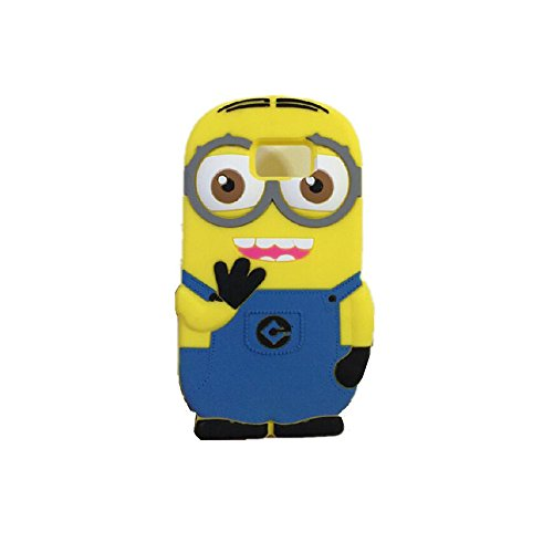 Double Eye Cute Despicable Me Minion Silicone Back Cover For SAMSUNG GALAXY S6  available at amazon for Rs.499