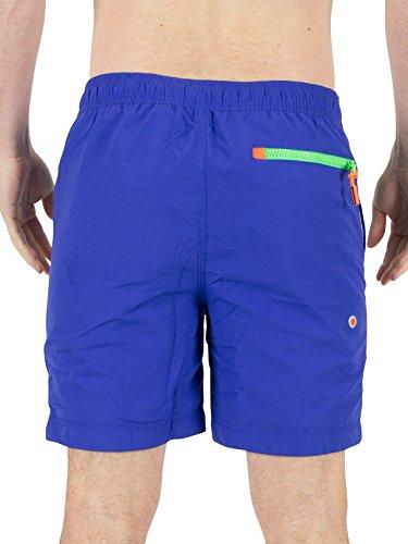 Superdry Herren Shorts Premium Water dunkelblau - grün