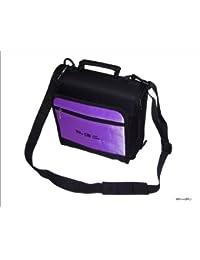 New Purple TGC Portable DVD Carry Case Bag + In Car Kit