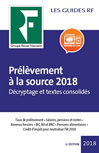 Prlvement  la source 2018