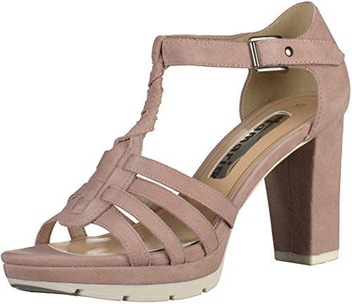 Sandaletten Altrosa