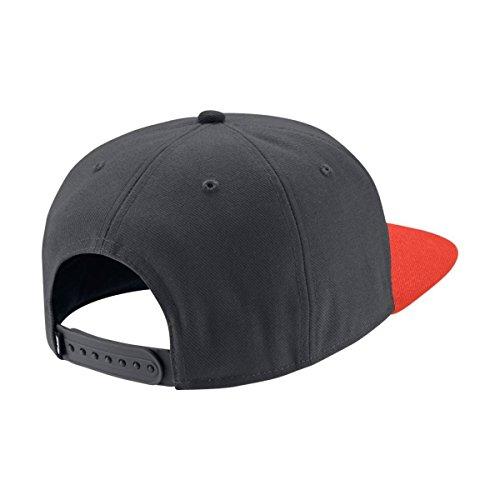 Nike U NK Pro Schirmmütze für Tennis für Herren gris (anthracite / max orange / black / anthracite)