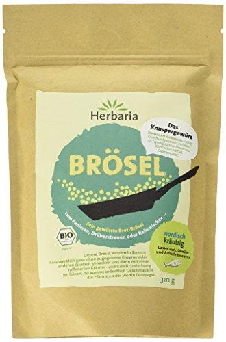 Herbaria Nordische Brösel Bio, 1er Pack (1 x 310 g) (Feine Semmelbrösel)