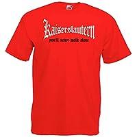 Kaiserslautern Herren T-Shirt You`ll never walk alone Ultras