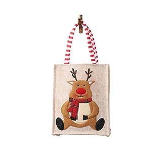 Tasche Candy Pouch Leinen Dreidimensional Gestickte Handba für Kinder Geschenk Umweltfreundliche Einkaufstasche