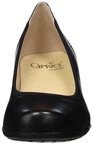 Caprice 22304, Scarpe con Tacco Donna Nero (Black Nappa)
