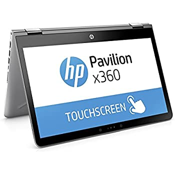 "HP Pavilion x360 14-ba029ns - Ordenador Portátil convertible táctil de 14"" FullHD (Intel Core i3-7100U, 4 GB RAM, 500 GB HDD, Intel HD Graphics 620, Windows 10); Plateado - Teclado QWERTY Español"