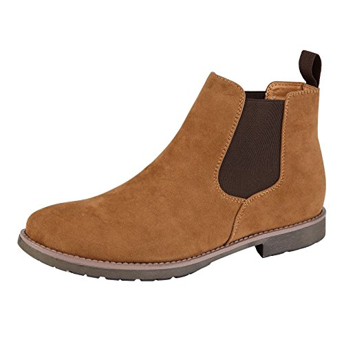 Mens Chelsea Boots Dealer Ankle Smart Casual Slip ON Shoes Size UK 7 8 9 10 11 1