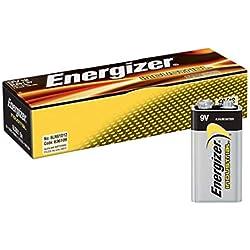 Energizer 9V Industrial/Disposable Battery (Pack of 12)