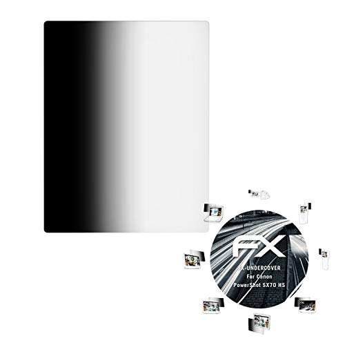 atFoliX Blickschutzfilter für Canon PowerShot SX70 HS Blickschutzfolie - FX-Undercover 4-Wege Sichtschutz Displayschutzfolie