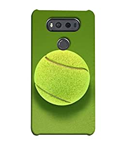 PrintVisa Designer Back Case Cover for LG V20 Dual H990DS :: LG V20 Dual H990N (Game Sport Round Sphere Macro Background Portrait)