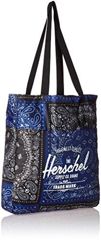 Herschel zaino casual, Black (nero) - 10251-00001-OS Navy/Black Bandana