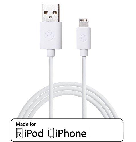 CLOUDSELLER NOUVEAU CÂBLE DE CHARGEUR USB iPhone 5 QUALITÉ SUPÉRIEURE - 8 Broches - APPLE IPHONE 5, IPOD TOUCH 5 NANO 7 IPAD MINI ®